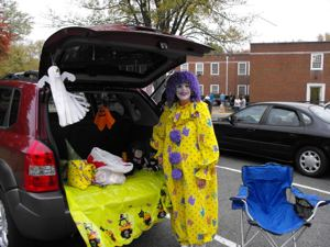 Trunk or Treat, Children's Ministry at Lakeside Baptist Church, Richmond, VA